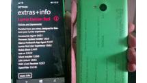 Microsoft's new, selfie-friendly Windows Phone gets caught on camera