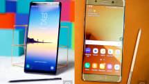 三星 Galaxy Note 8 vs. Note 7 超级比一比