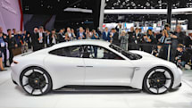 Porsche's electric Mission E will pack up to 670 horsepower