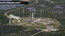 齊來看看 SpaceX Falcon 9 可回收火箭返回地球的過程