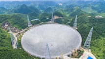 China finished the world's largest single-aperture telescope