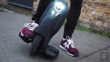 I learned to ride an electric unicycle