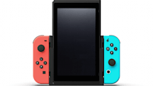 A vertical case makes arcade games easier on Nintendo Switch