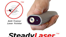 $150 laser pointer can stay steady even if your hands can't