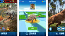 'Jurassic World Alive' is like 'Pokémon Go' with dinosaurs