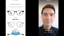 Warby Parker recommends glasses using your iPhone X's depth camera