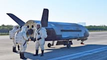 Drone is the first spacecraft in years to use a key Shuttle runway