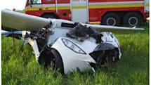 AeroMobil's flying car prototype crashes mid-test