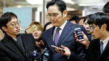 Samsung 掌門人李在鎔因行賄被批捕