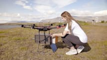 Drones are delivering packages in Iceland's capital city