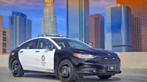 Ford's hybrid cop car has electric boost for high-speed chases