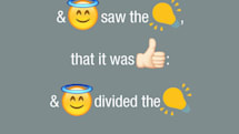 The bible has been translated into emojis