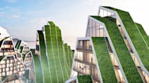Inhabitat's Week in Green: WarkaWater Tower, kangaroo-like robot and an energy-generating carousel