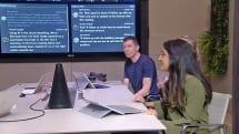 微软的「AI 圆锥」懂得识别人脸并协助会议记录