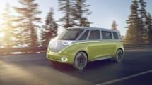 VW 的 I.D. Buzz 是一輛概念自駕小巴