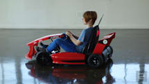 The Arrow Smart-Kart is a joy rider that parents can control