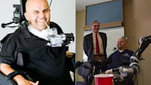 Brain implants control robot arm well enough to grab a beer