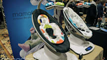 mamaRoo's electric baby rocker can now soothe by Bluetooth