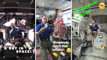NASA shows a typical day on the ISS via Snapchat