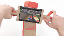 Now Nintendo's cardboard Labo controller works with 'Mario Kart'