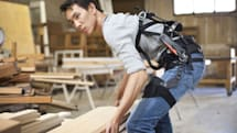 suitX's modular exoskeleton can prevent work-related injuries