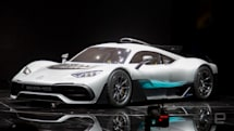 Mercedes puts Formula One tech in an electric hypercar