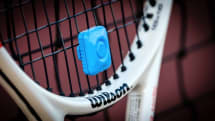 On the court with the promising Qlipp tennis sensor
