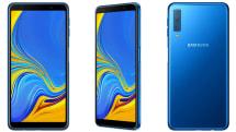 Samsung's mid-range Galaxy A7 has a triple camera setup