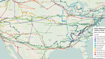 ​This interactive map crams in American literature's greatest road trips