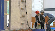 Eco-friendly concrete protects old buildings from earthquakes