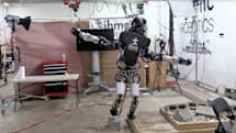 Watch Boston Dynamics' humanoid robot balance on one foot