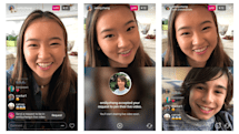 Now you can ask to join a friend's Instagram live video