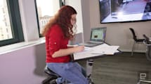 The Edge Desk transforms so you can get work done anywhere