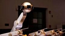 Marimba-playing robot crafts its own tunes
