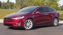 Tesla unveils its less pricey crossover Model X 60D