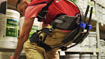 Lowe's exoskeletons help workers carry what you can't