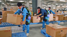 Panasonic shows how its robotic suits ease your burden