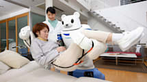 Robear is a robot bear that can care for the elderly