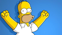 Homer Simpson will broadcast live, with some motion-capture help