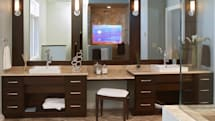 A return to American-made TVs, by way of the bathroom