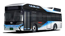 Toyota's hydrogen buses can work as emergency generators