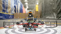 Watch DARPA's tiny drone do 45 MPH indoors, autonomously