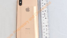 The FCC leaked pictures of a gold iPhone X