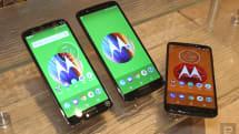 更新中階手機產品線,Moto G6 系列抵港