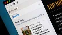 Firefox experiment suggests articles based on your web history