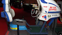 3D After Burner 2 simulates multiple arcade cabinet styles