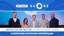 BT Sport to stream its Saturday footy results show on Twitter