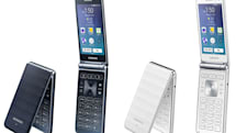Samsung adds some power to its latest Android flip phone