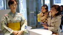 Toshiba's humanoid retail robot is ready to greet you