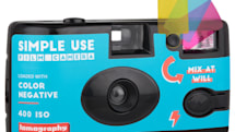 Lomography's super-cheap film cameras look like disposables